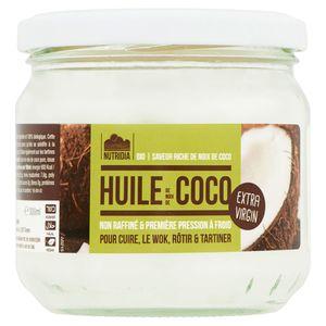 Nutridia Bio Huile de Noix de Coco Extra Virgin 300 ml