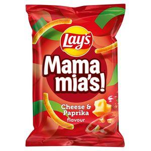 Lay's Mama Mia's Paprika Kaas Chips 125 gr