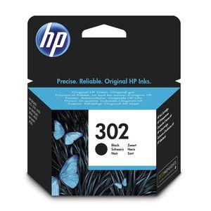 HP - Cartouche d'encre 302 - Noir