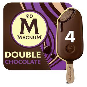 Magnum Ola Double Multipack Ijs Chocolade 4 x 88 ml