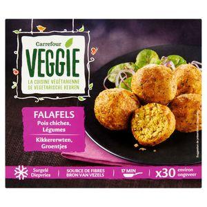 Carrefour Veggie Falafels Pois Chiches Légumes 30 Pièces 510 g