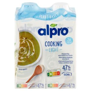 Alpro Cuisine Soya Light 2 x 251 g