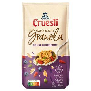 Quaker Crunchy Muesli Goji & Blauwe Bes 350 gr