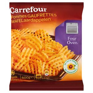 Carrefour Wafelaardappelen 600 g