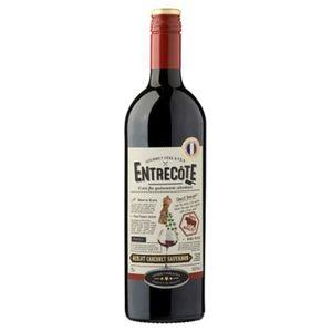 France Vin de Pays d'oc Entrecôte Rouge