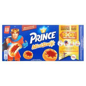 LU Prince MiniStars Chocolat au Lait 5 Sachets 187 g