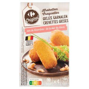 Carrefour Croquettes aux Crevettes 4 Pièces 250 g