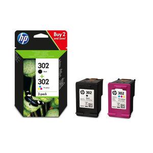 HP - Inktcartridge 302 - BL/C/M/Y