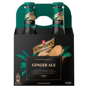Schweppes Premium Mixer Ginger Ale 4 x 20 cl