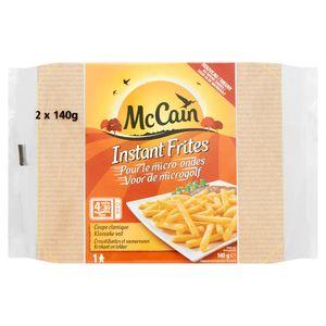 McCain Microgolf Instant Frieten 2 x 140 g