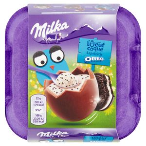 Milka l'Oeuf Coque Oreo 4 x 32 g