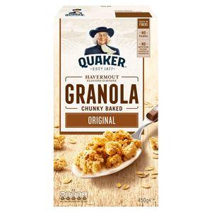 Quaker Havermout Granola Naturel 450 gr