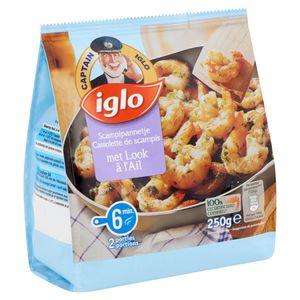 Captain Iglo Scampipannetje met Look 250 g