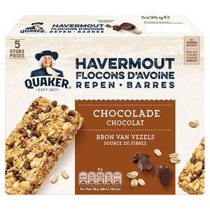 Quaker Havermoutrepen Chocolade 5 x 35 gr