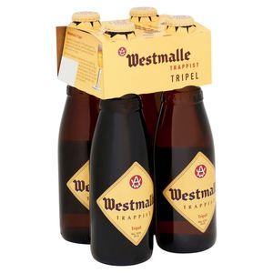 Westmalle Trappist Tripel Flessen 4 x 33 cl