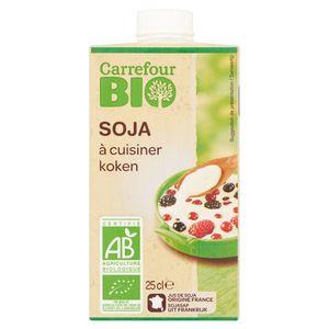 Carrefour Bio Soja Koken 25 cl
