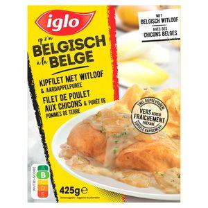 Iglo Filet de Poulet aux Chicons et à la Purée de Pommes de Terre 425 g