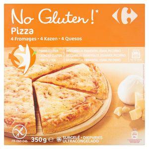 Carrefour No Gluten! Pizza 4 Kazen 350 g