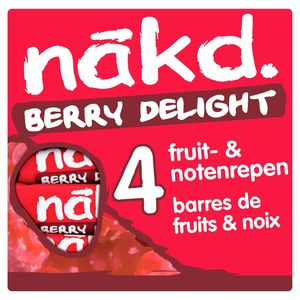 Nākd Berry Delight 4 x 35 g