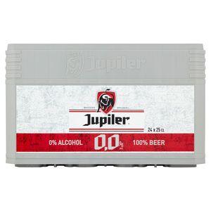 Jupiler 0.0% Alc. Beer Caisse 24 x 25 cl