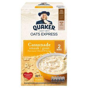 Quaker Havermout Oats Express Cassonade 360 gr