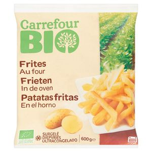 Carrefour Bio Frites au Four 600 g