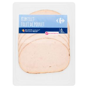 Carrefour Filet de Poulet 6 Tranches 100 g