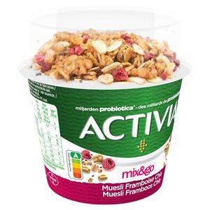 Activia Topping Yoghurt Muesli, Framboos & Chia met Probiotica 165 g