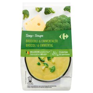 Carrefour Soep Broccoli & Emmentaler 600 g