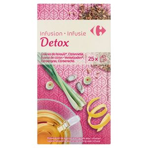 Carrefour Infusion Detox 25 x 1.6 g