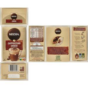 NESCAFÉ Café CHOCO CAPPUCCINO Sachets 148 g