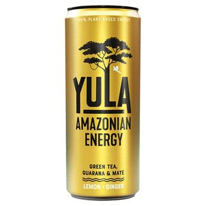 Yula Energiedrank Lemon Ginger 25 cl