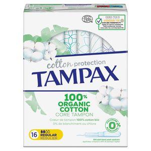 Tampax Cotton Protection Regular Tampons Inbrenghuls x16