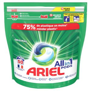 Ariel Allin1 Pods Regular Wasmiddelcapsules 50 Wasbeurten