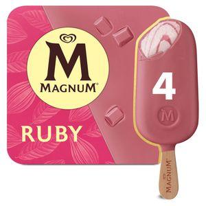 Magnum Ola Ijs Multipack Ruby 4 x 90 ml