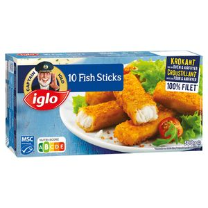 Iglo 10 Fish Sticks 1 x 300 g
