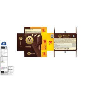Magnum Ola Multipack Ijs Classic 8 x 110 ml