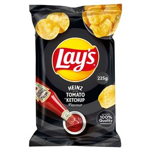 Lay's Aardappelchips Heinz Tomato Ketchup Flavour 225g