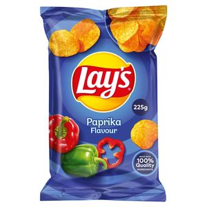 Lay's Chips De Pommes De Terre Paprika Flavour 225g
