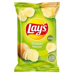 Lay's Aardappelchips Pickles Flavour 225g