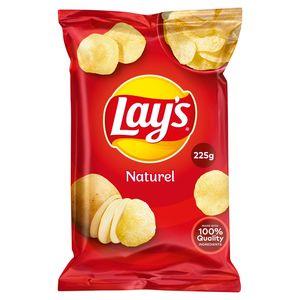 Lay's Chips De Pommes De Terre Naturel 225g