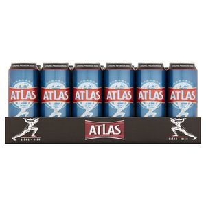 Atlas Strong Premium Beer Canettes 24x50 cl