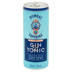 Bombay Sapphire Gin & Tonic 250 ml
