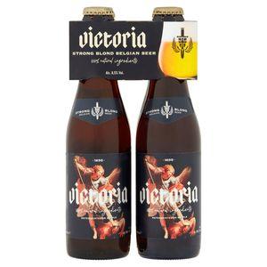 Victoria Strong Blond Belgian Beer Flessen 4 x 33 cl
