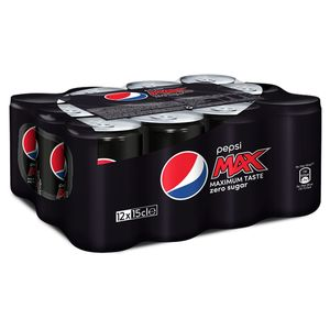 Pepsi Max Cola 12x15cl - Can