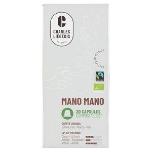 Café Liégeois Mano Mano 20 Capsules 104 g
