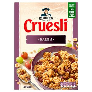 Quaker Cruesli Raisin 450 gr