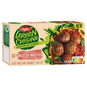 Iglo Green Cuisine Vegetarische Balletjes 240g