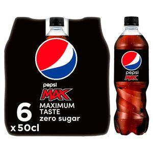 Pepsi Max Cola 6x50 CL