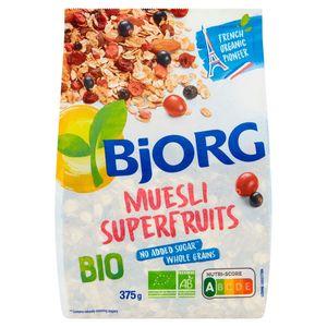 Bjorg Muesli Superfruits Bio 375 g